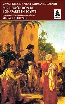 Sur l'expédition de Bonaparte en Egypte par Denon