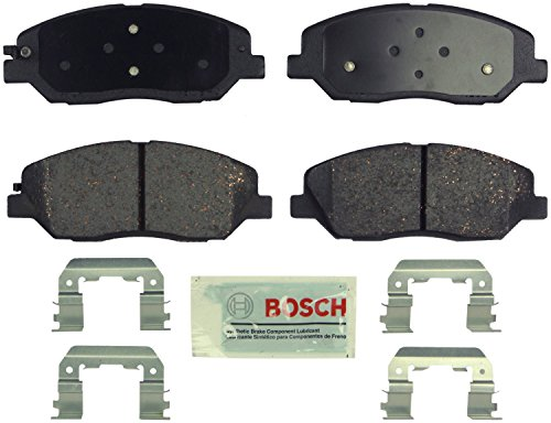 Bosch BE1202H Blue Disc Brake Pad Set with Hardware For: Hyundai Entourage, Santa Fe; Kia Sedona, Front