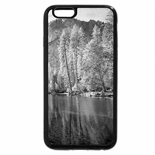 iPhone 6S Plus Case, iPhone 6 Plus Case (Black & White) - Painted Valley, Yosemite, California