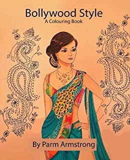 Bollywood Style A Colouring Book