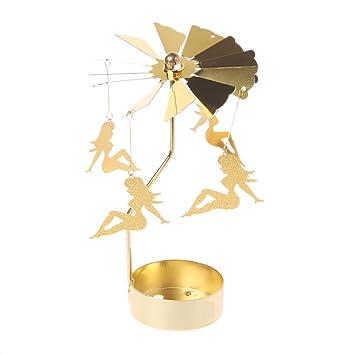 Xurgm Sexy Mädchen Metall Gold Kerzenhalter Für Kegel Kerzen Eisen Dünne  Metall Moderne Tisch Dekorative Herzstück