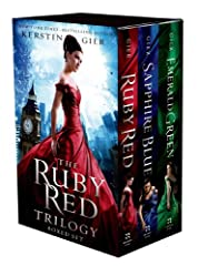The Ruby Red international bestselling trilogy by Kerstin Gier took the world by storm is now available as a beautiful boxed set. The perfect gift for all the Ruby Red fans. Sixteen-year-old Gwen lives with her extended―and eccentric―f...