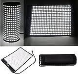 SOONWELL 5600K Waterproof LED Light 34W Mat Super Slim Lightweight Flexible Lamp for Video Camera Fliming Photographic Studio Light