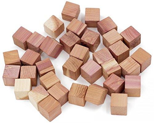 wahdawn pequeñas Cubos–Armario Cajones de cedro antipolillas de protección–Olor freshening, De madera