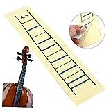 Paleo Autocollant bande violon manche palissandre violon tableau doigt marqueur pour violon 4/4