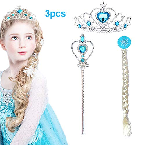 CQDY Princess Dress up Party Accessories with Tiara