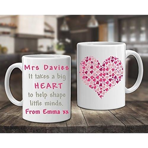 personalised best teacher mug thank you christmas gift coffee cup mug design 5 - Best Teacher Christmas Gifts