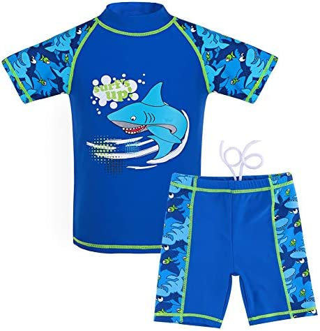 UBaymax Badeanzug M/ädchen Kinder UV-Schutz M/ädchenbadeanzug Bade-Set mit abnehmbar Schwimmhilfe Baby Anz/üge Beachwear Badebekleidung Bademode Swimsuits f/ür 1-2 Jahre Kinder