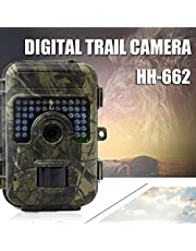 DishyKooker Outdoor Monitoring Hunting Camera Anti-theft Waterproof Dustproof HD Night Vision Animal Monitoring Camera