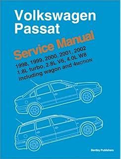 Volkswagen Passat B5 Service Manual 1998 1999 2000 2001