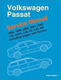 Volkswagen Passat, 1998, 1999, 2000, 2001, 2002: Service Manual, 1.8L Turbo, 2.8L V6, 4.0L W8; including Wagon and 4-Motion