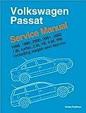 Volkswagen Passat, 1998, 1999, 2000, 2001, 2002: Service Manual, 1.8L Turbo, 2.8L V6, 4.0L W8; including Wagon and 4-Motion