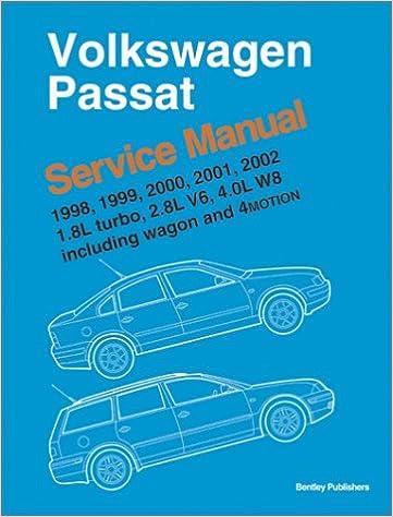 Volkswagen passat 1998 1999 2000 2001 2002 service manual 18 volkswagen passat 1998 1999 2000 2001 2002 service manual 18l turbo 28l v6 40l w8 including wagon and 4 motion fandeluxe Image collections
