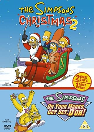 The Simpsons Christmas Dvd.The Simpsons Christmas 2 On Your Marks Get Set D Oh Dvd