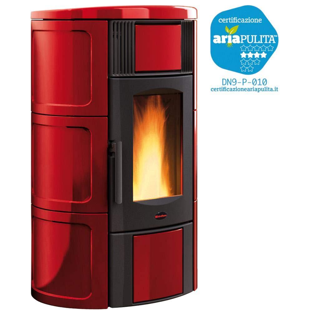 termoestufa estufa de pellets potencia 19kW Burdeos ...