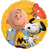 17 Peanuts Snoopy Mylar / Foil Balloon - Pack of 5 by Single Source Party Supplies