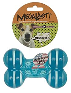 JW Pet Company MegaLast Bone Dog Toy, Large (Colors Vary)