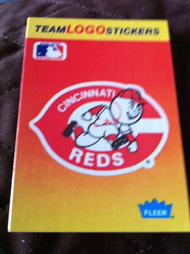 Baseball cards 1991 fleer team logo stickers