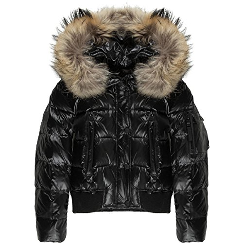 SAM Skyler Down Jacket - Girls' Jet, 12 by SAM