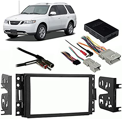 2005 saab interior lighting wiring amazon com compatible with saab 9 7x 2005 2009 double din  saab 9 7x 2005 2009 double din