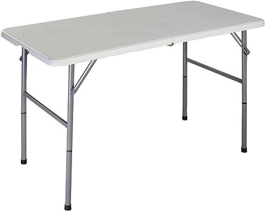 Home Vida Folding Table 4ft Heavy Duty Extra Strength Camping Buffet Wedding Car