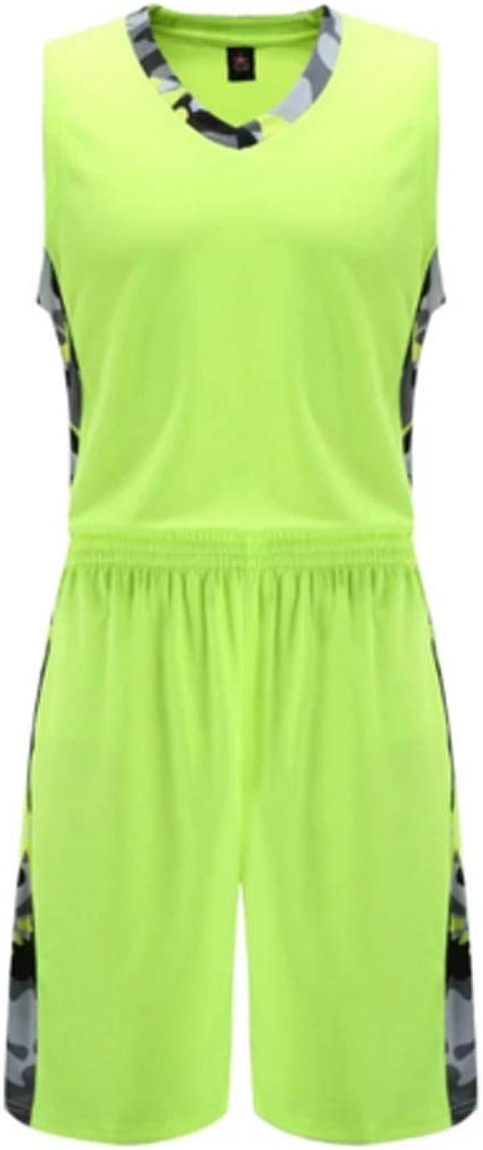 Yefree Uniforme de Baloncesto Movimiento Traje Niño Jersey Ropa ...
