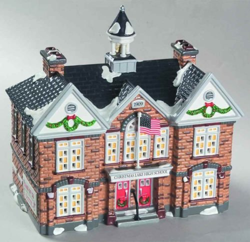 Department 56 The Original Snow Village ''Christmas Lake High School''