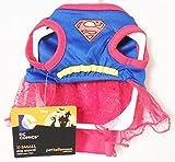 Marvel Comics Super Girl Superman XSmall Dog Costume