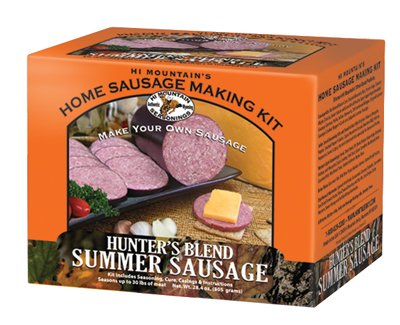 Hi Mountain Hunter's Blend Summer Sausage - Hi Kits Sausage Mountain