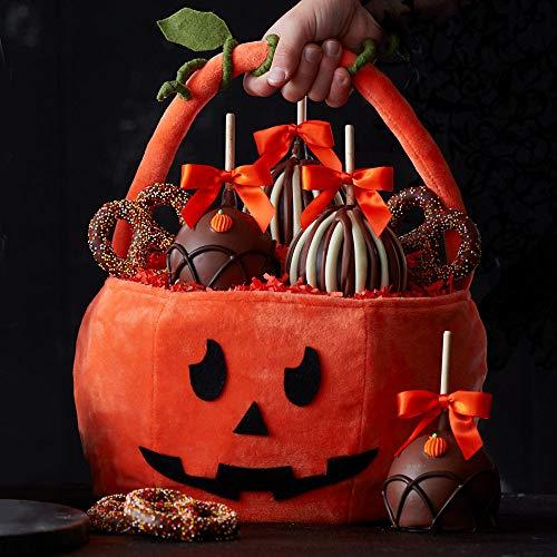 Mrs Prindables Trick-or-Treat Pumpkin Caramel Apple Basket -