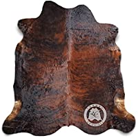 Brindle Cowhide Rug APPROX Size 5ft x 7ft 150 cm x 210cm - Top Quality