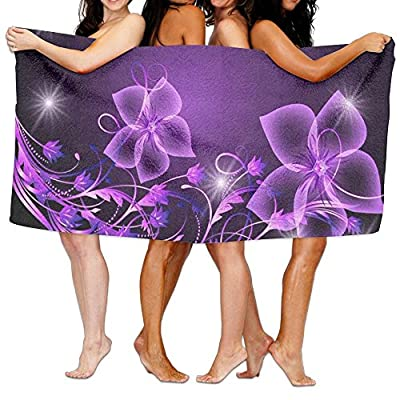 Polo Flower Beach Cover Up Comfortable Swimming Bath Towel