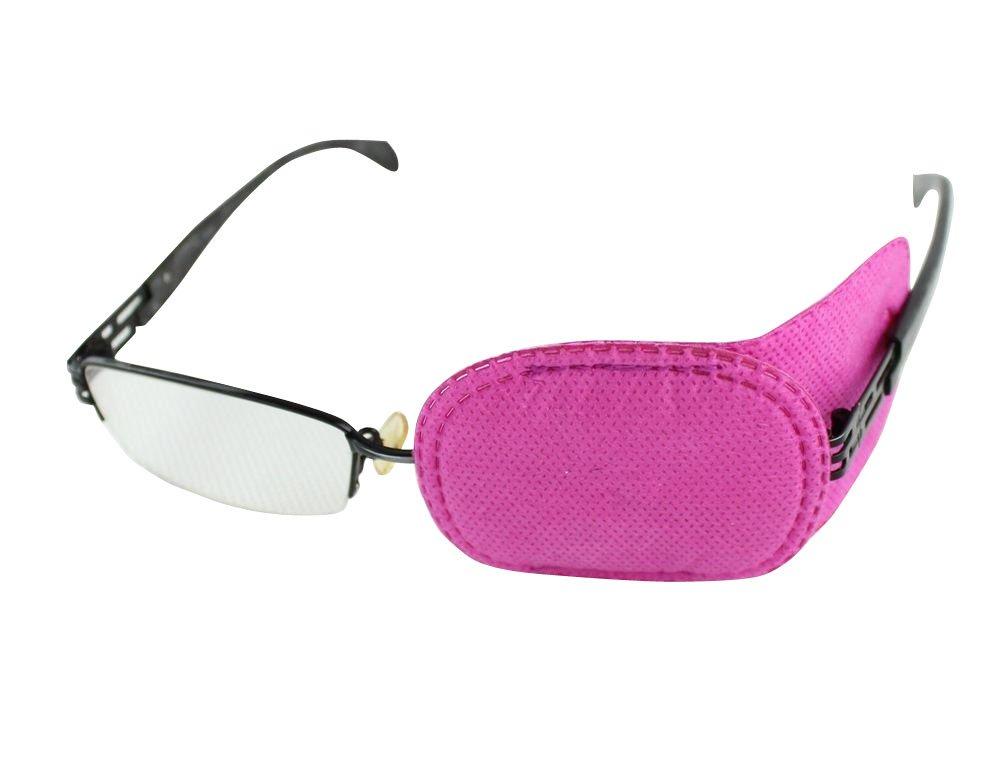 6pcs Ojo patch-amblyopia Parches para gafas, niños Ojo Parche, estrabismo, ojo perezoso Patch Para Niños Rosa: Amazon.es: Deportes y aire libre