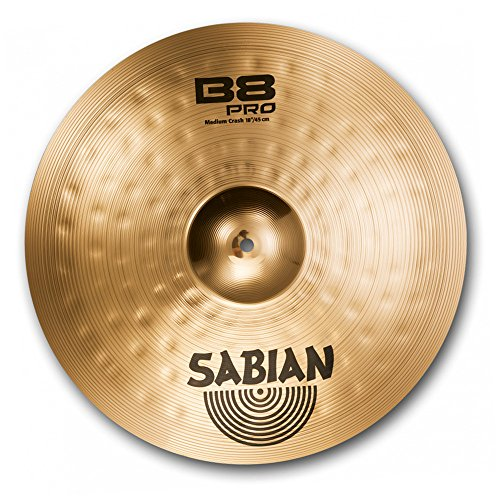 (Sabian 18-Inch B8 Pro Medium Crash Cymbal)