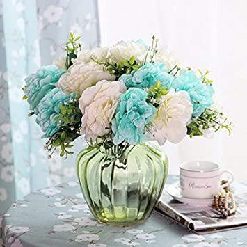 Amazon.de: Hydrangea kunst Kit künstliche Blumen emulation Blume ...