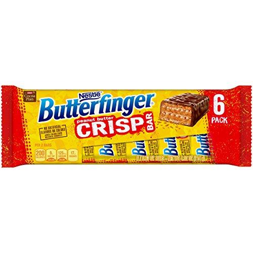 Butterfinger 6 Piece Crisp Candy Bars, 4.02 oz