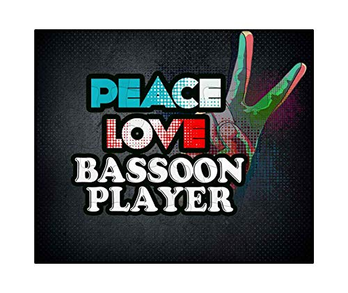- Makoroni - Peace Love Bassoon Player Music - Jigsaw Puzzle, 30 pcs.