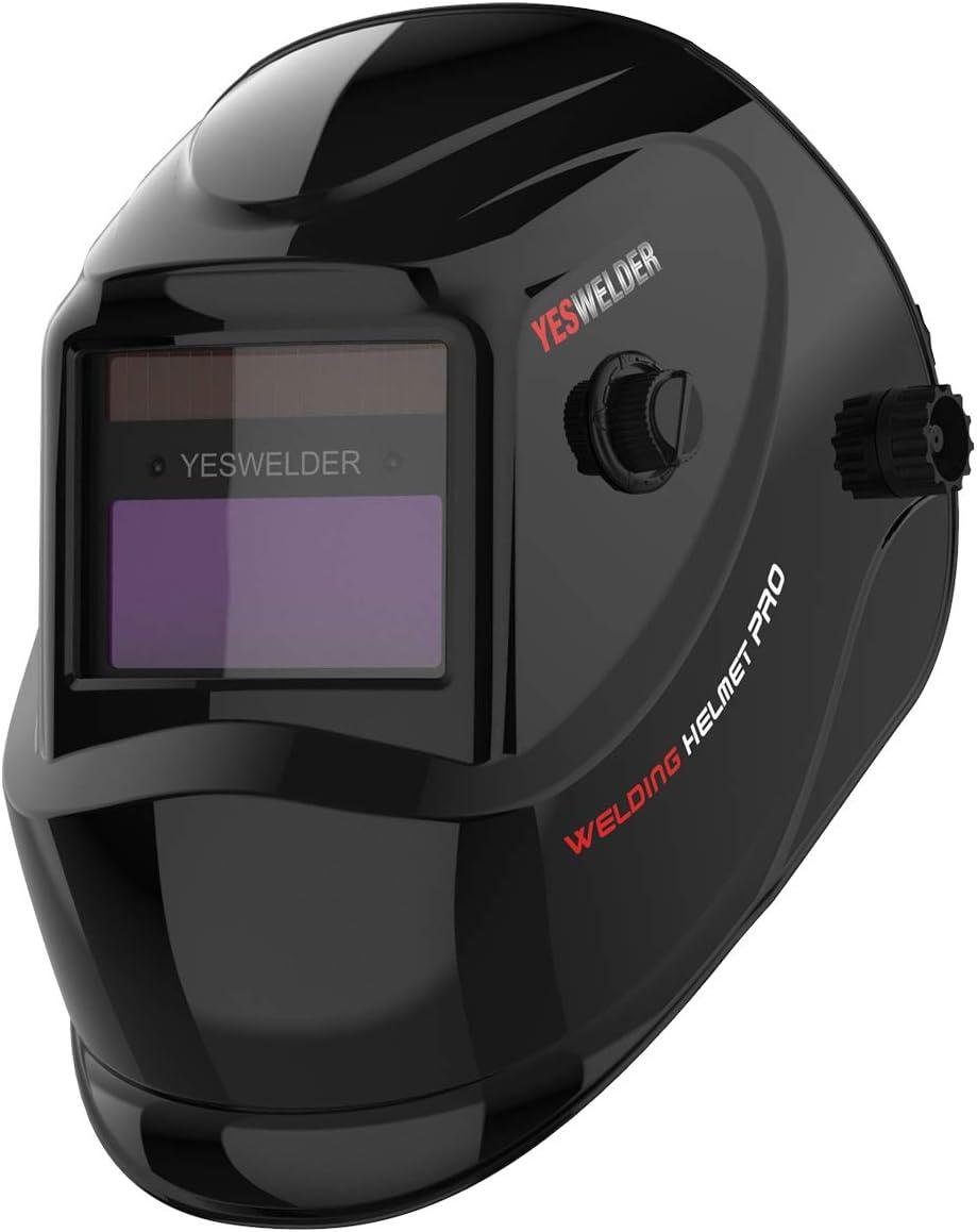 4//9-13 Solar Automatic Darkening Welding Helmet Face Shield Industrial Spark