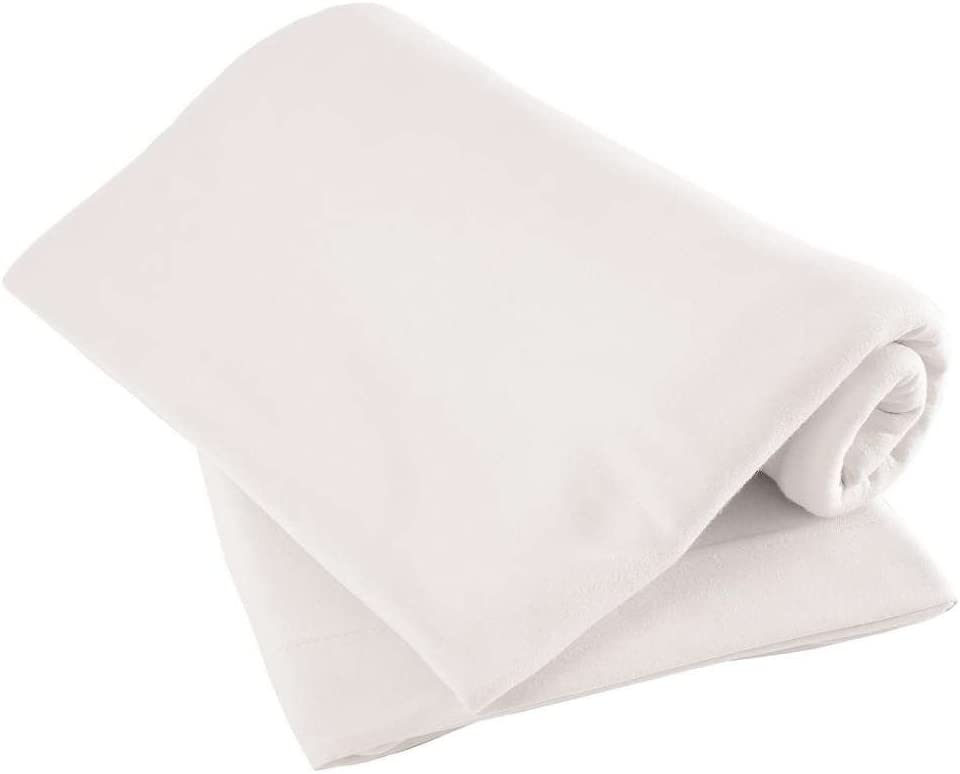 70x142cm Pack of Two Cot Bed Jersey Fitted Sheets approx 100/% Cotton