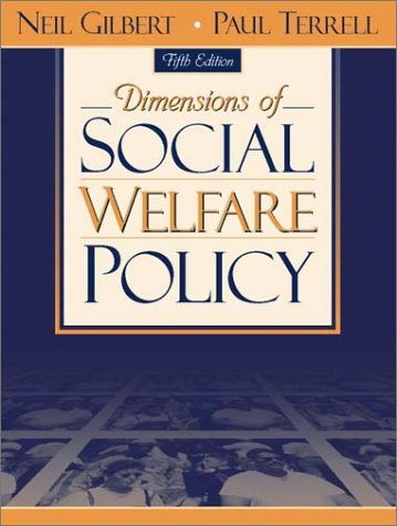 Dimensions of Social Welfare Policy (5th Edition)