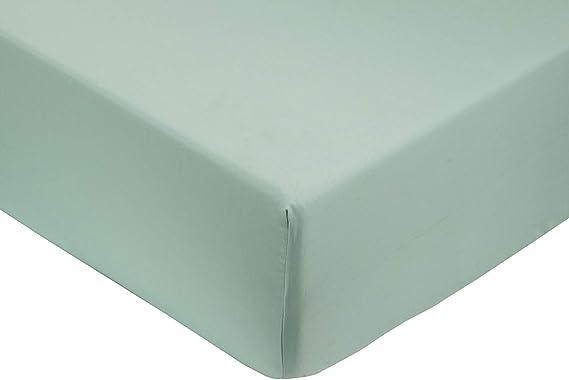 Verde 135) Sabana bajera ajustable, elastica 100% algodón de ...