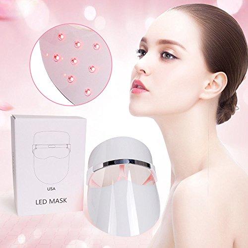 red light face mask beauty