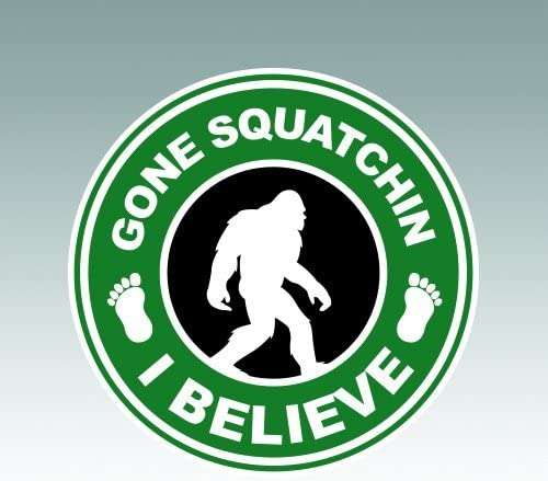 Gone Squatchin Decal