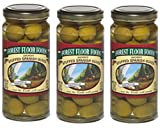 Specialty Stuffed Olives   Anchovy Stuffed Spanish Olives   8 Ounce   Pack of 3