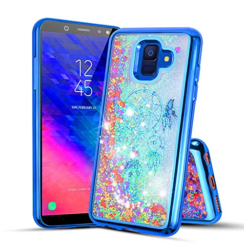 Compatible with Samsung Galaxy A6 2018, Glitter Liquid Quicksand Flowing Sparkle Case for Samsung Galaxy A6 2018 ()