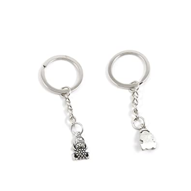 1 PCS Brave Troops Fortunate Toad Keychain Keyring Jewelry Making Charms  Door Car Key Tag Chain 3fe0d211c