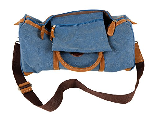 SALVADOR BACHILLER Weekend Bag - Harper 144 - Blu marino