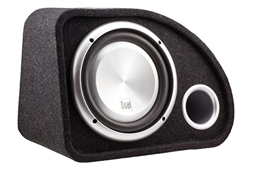 Dual Electronics SBX101 10 inch Studio Quality High Performance Ported Enclosed Subwoofer with 500 Watts of Peak Power Black