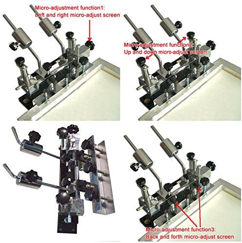 1-1 Micro Adjustable Screen Press Head by Screen Printing Equipment