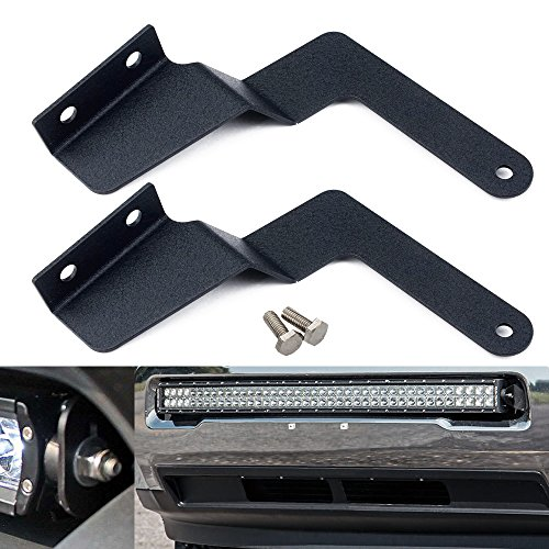 QUAKEWORLD 2pcs Front Hidden Bumper Grille Mounting Brackets for 30